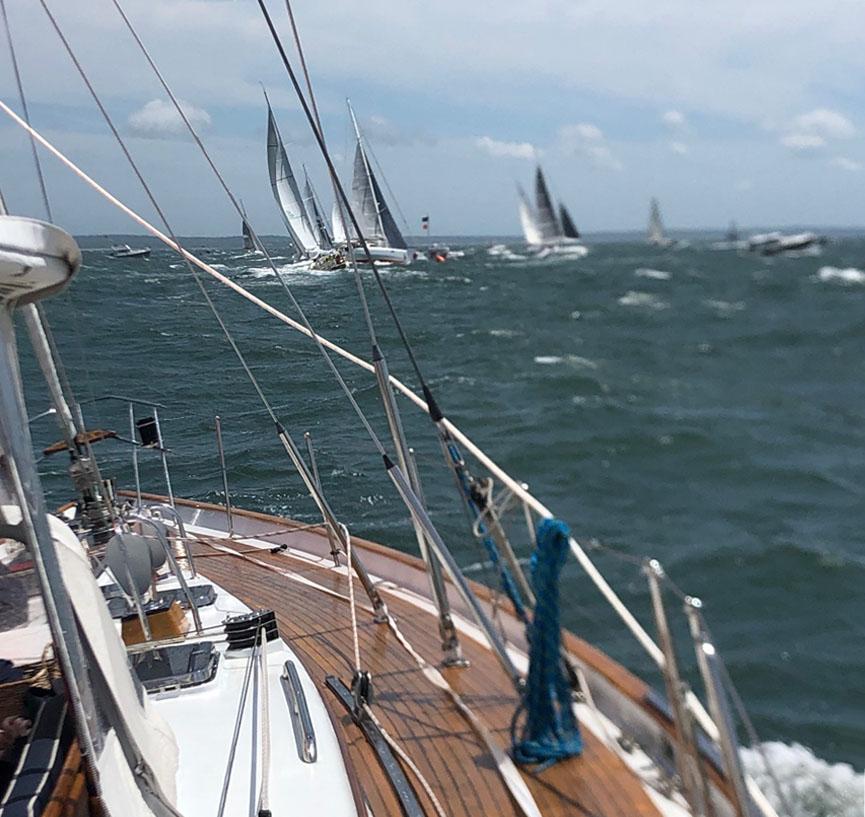 Machbuster: A Windy Start in Buzzards Bay, MA
