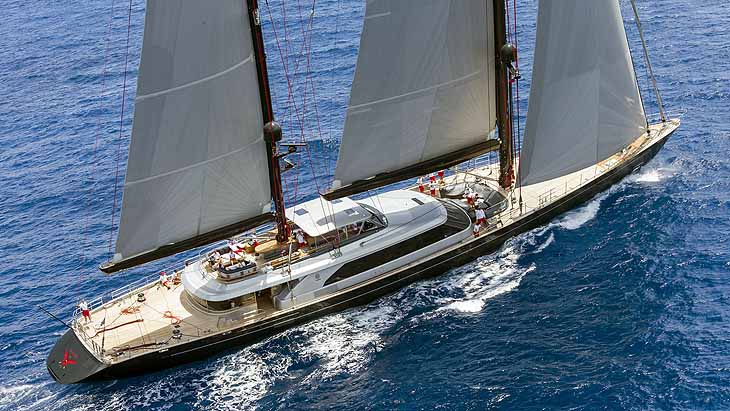 Seahawk, 2013 Perini Navi 60m (197 ft)