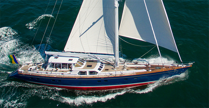 DANCE SMARTLY, 106' Palmer Johnson Custom Pilothouse Sloop